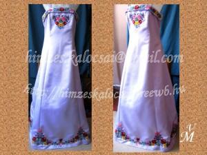K. Annamária kalocsai lila ruha