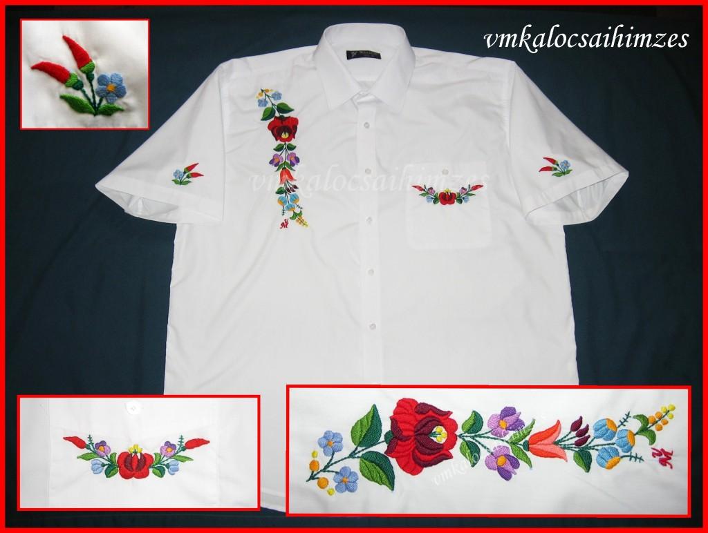 L. Roland kalocsai férfi ing