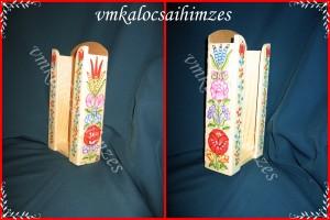Kalocsai papírzsebkendő tartó (1)