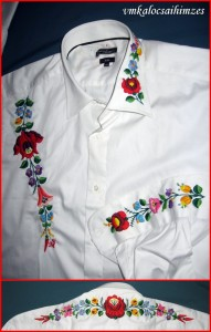 Árvai E. kalocsai férfi ing