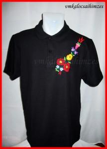 D.I. fekete póló