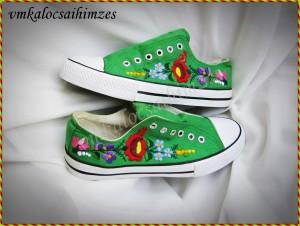Gy.K.Mónika zöld cipő