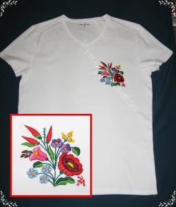H. B. Gyöngyi kalocsai póló