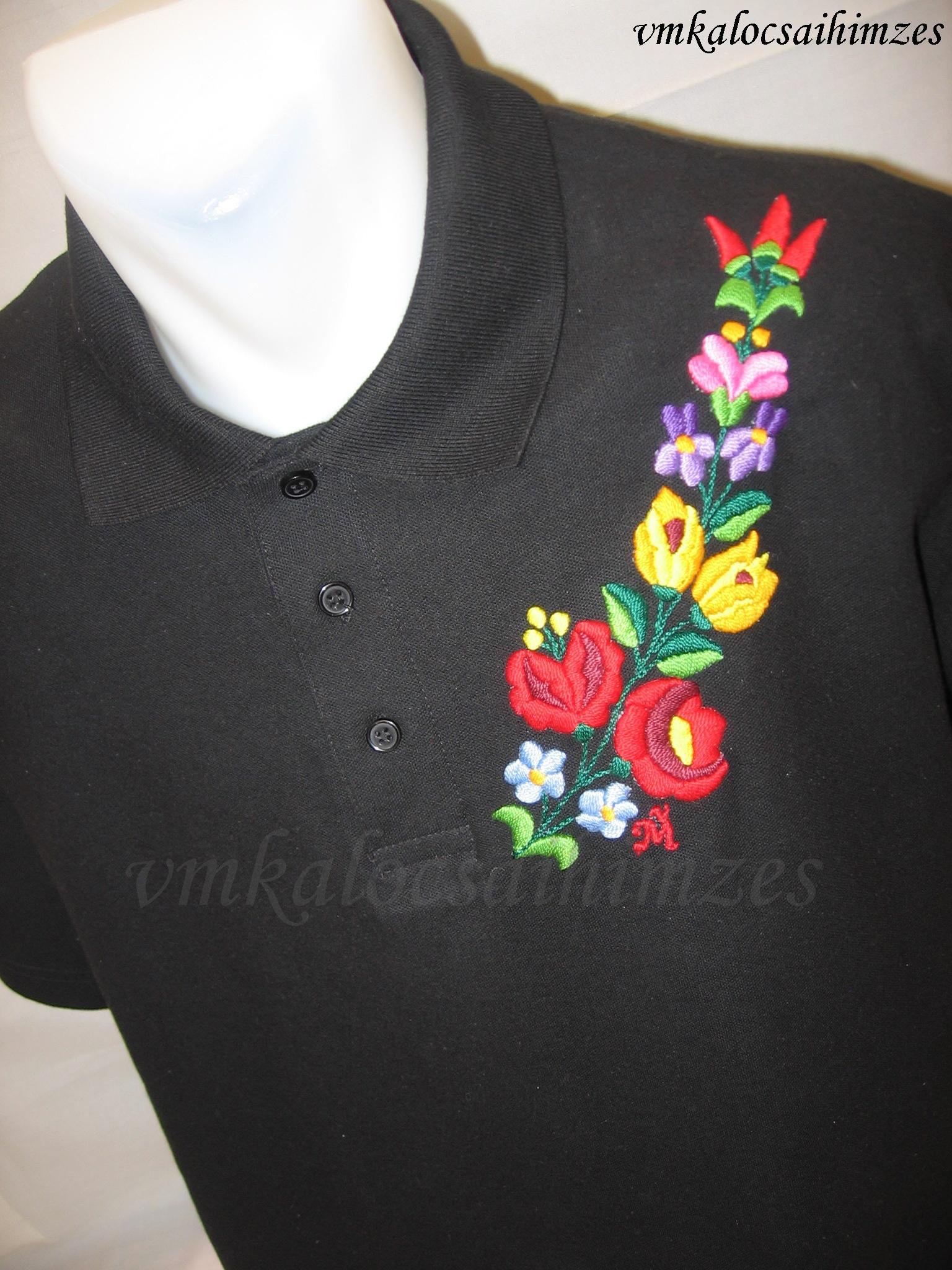 55f3df900a Iza kalocsai hímzett férfi póló