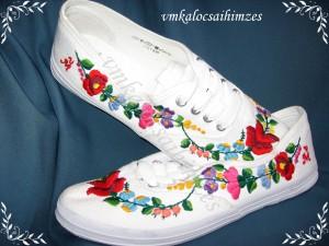 M. Annamária kalocsai cipő