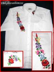 N.K.Gy. kalocsai férfi ing