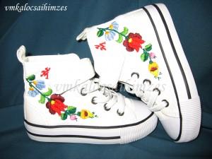 Baba kalocsai cipő 24-es