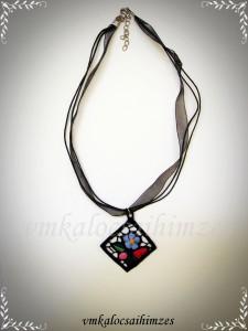 Kalocsai nyaklánc 3. fekete